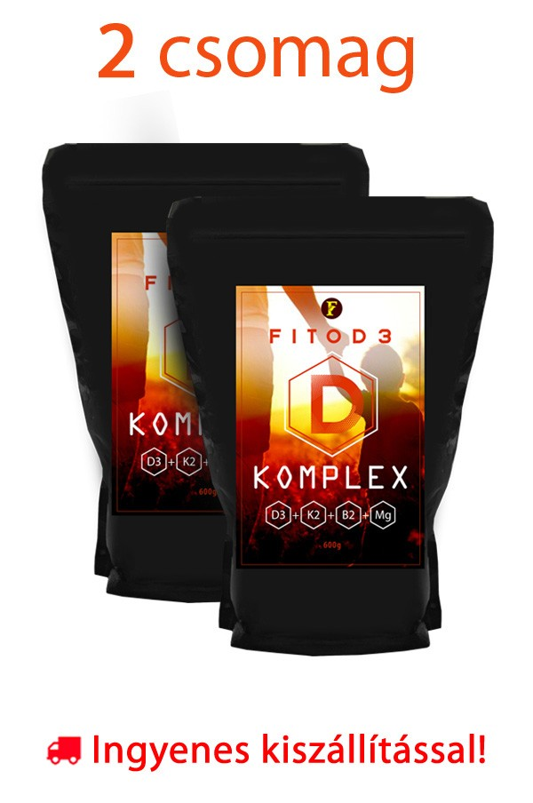 2 csomag FitoD3 D-Komplex 600g