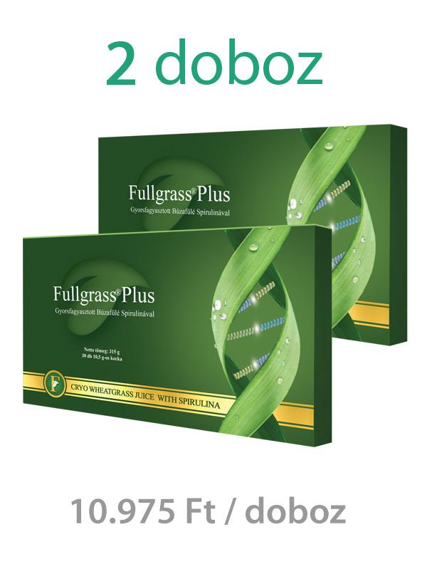 2 doboz Fullgrass Plus mélyfagyasztott búzafűlé